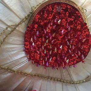 Handbags - ❤️ Sweet Red Evening Bag
